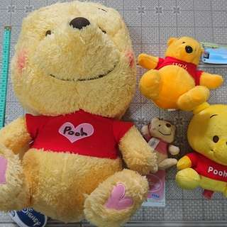 winnie the pooh 小熊維尼公仔~聖誕禮物~