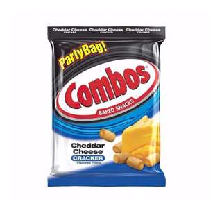 Combos Cheddar Cheese Cracker Party Bag