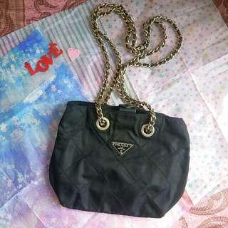 Prada chain bag mini size 大熱款