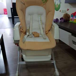 Pre-loved Combi High Chair, daybed, rocker