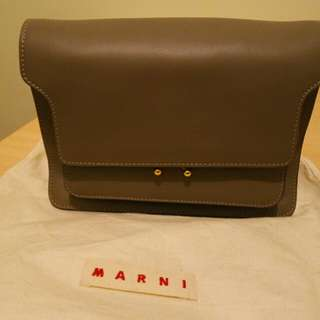 MARNI-TRUNK BAG MATTE CALF SKIN