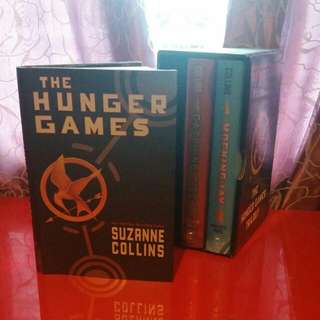 Hard Cover Hunger Games Trilogy