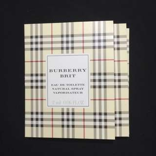 burberry brit eau de toilette