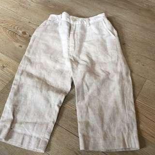 小童褲 麻織褲