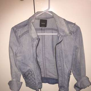 Sportsgirl Denim Jacket Size 6