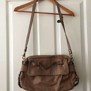 Country Road Leather Handbag