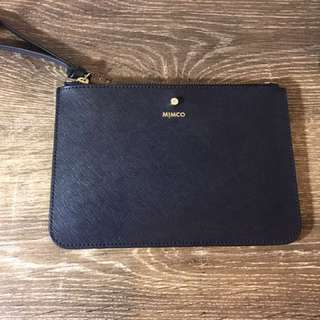 MIMCO Navy Medium Pouch Brand New