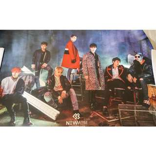 BTOB New Men Poster