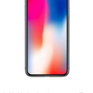 Selling iPhone X 256GB Silver SH Set