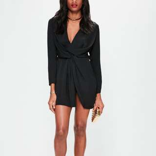 Missguided dress - black