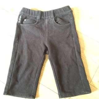 嬰兒褲 彈性七分褲