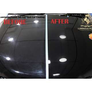 CAR COATING AT ONLY $220 NETT !!!!!!!!!!!!!!!!! *9H CERTIFIED !!!!!!!!!!!!!!!!!!!!!!!