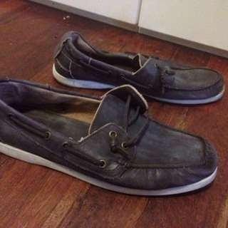 Industrie men's leather loafers size 42
