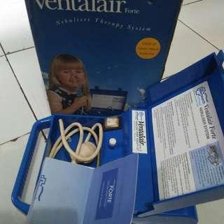 ventalair  nebuliser therapy alat uap untuk pernapasan