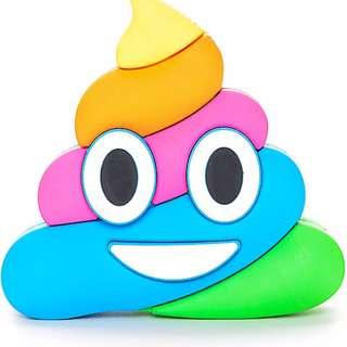 Emoji / Poo Face / Power Bank / 8800 mAH Power Bank / Mobile Charger