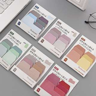 Colour palette sticky tab dividers