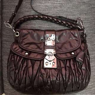Authentic Miu Miu Coffer Bag