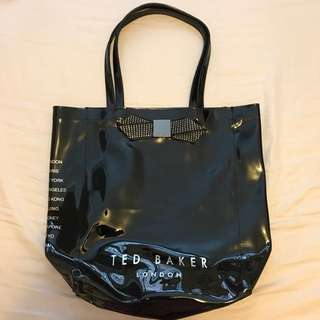 Ted Baker shopping tote bag
