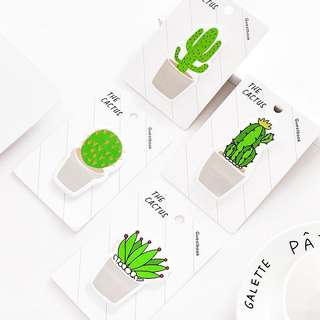 Cactus and Succulents Sticky Notes