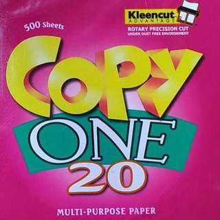 COPY ONE MultiPurpose Paper