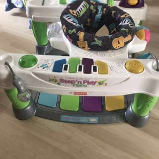 Fisher price step and play piano