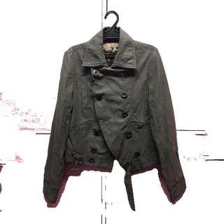 Moss Green (Greyish) jacket
