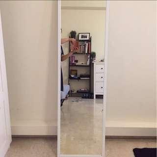 White Frame Full Length Mirror
