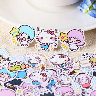 Sanrio Friends Scrapbook / Planner Stickers #37