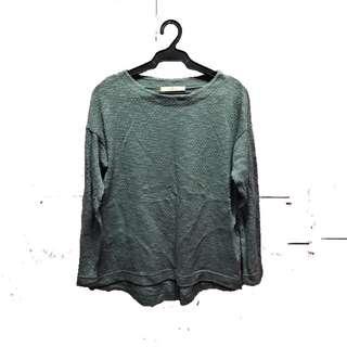 Greenish Grey sweater