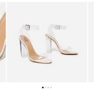 Imitation Yeezy Perspex Heels