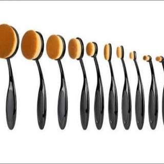 Make Up  Brushes 10 Piece