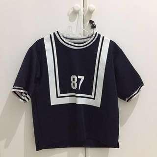 Navy Color Premium Top