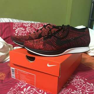 Nike Flyknit Racer Red Rooster