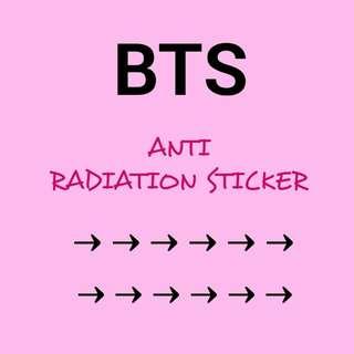 [WTS] BTS Anti Radiation Sticker. #semuaRM5