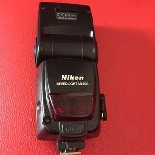 Nikon Sb800閃光燈