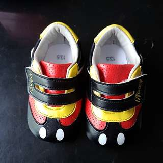 Mickey Mouse Shoes size 13.5