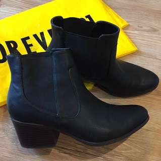 Forever 21 Leather Boots