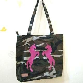 Tote Bag motif Army - Unicorn