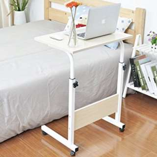🔥Best Deal!!🔥New Laptop tablet ipad Bed Side Table moveable wheel adjustable