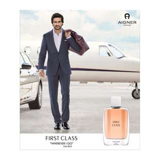 🆕 Aigner ♦️♦️ First Class EDT 50ml