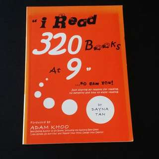 "📚 Motivational Book 📚 Adam Khoo ~ ""i Read 320 Books At  9""...so can You!"