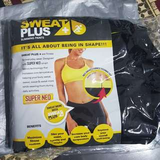 L size Sweat Plus Super Neo Slimming Pants
