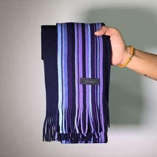 全新橫條圍巾