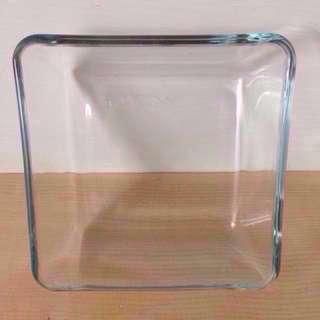 烤盤IKEA耐熱玻璃焗烤盤15x15cm
