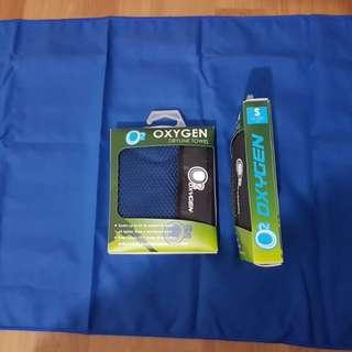 Oxygen dryline towel