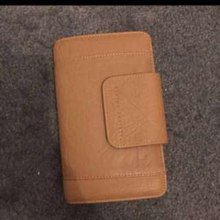 Brand New Status Anxiety Tanned Wallet