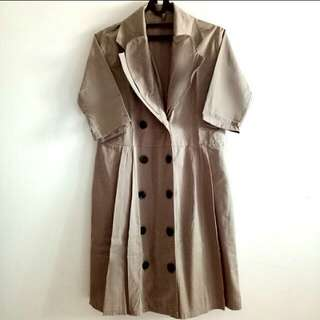 Dress Brown sedengkul