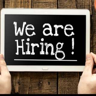 HIRING PART TIMERs!!!