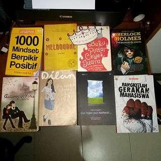 (reprice) Novel & buku motivasi