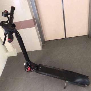 Spoilt escooter